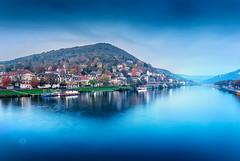 Blue hour Heidelberg (Michele Naro) Tags: heidelberg visitgermany visitheidelberg germany germania badenwürttemberg deutschland bluehour nikond80 nikon samyang14mmf28