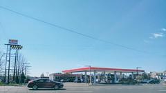 Massaponax Exxon, US 1 and Market Street, Spotsylvania County Virginia (jon boat joe (pro)) Tags: virginia outdoor gasstation fuel exxon massaponax i95