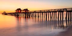 Naples Pier #2 (sailor_smb) Tags: pier naples florida naplespier fishingpier fishing sunset seaside beach gulfofmexico