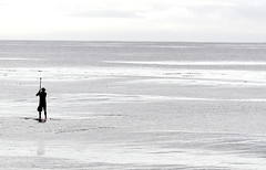 Paddle Boarder*- Refugio SB - 2017-3087 (GDMatt) Tags: caifornia california northamerica pacificocean refugiosb refugiostatebeach unitedstates adventure coastline fitness human humanbeing mandarinduck movement nature ocean oneperson paddleboard paddleboarder peaceful solitude sports workout minimal minimalist minimalism silhouette