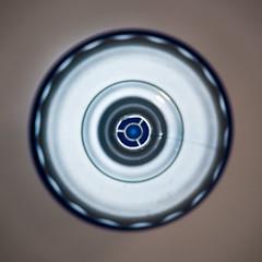 066:365 - Round... (ASBO Allstar) Tags: asboallstar ledlight project365 ringlight macro bottle waterbottle circle round blue silver
