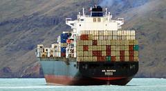 ANL WARATAH. (Bernard Spragg) Tags: anlwaratah vessels ships marine boats shipping cargoships lumixfz1000 publicdomain merchantships