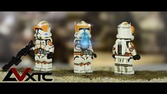 "CC-2224 ""Cody"" - ROTS (AndrewVxtc) Tags: lego star wars custom clone commander cody cc2224 execute order 66 revenge sith andrewvxtc"