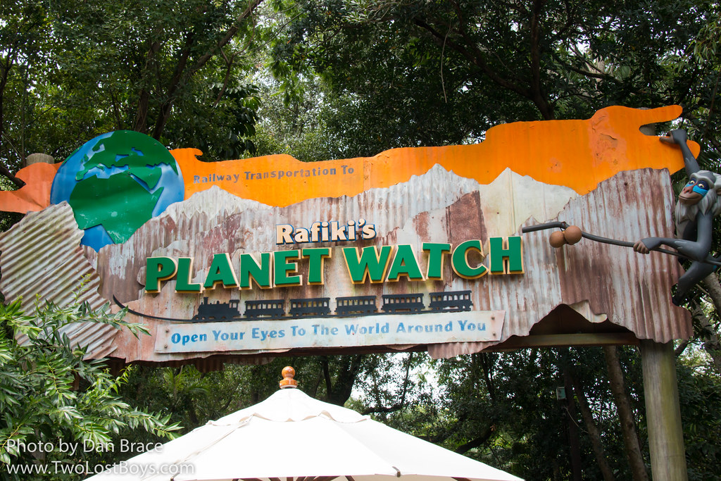 rafikis planet watch at disney character central