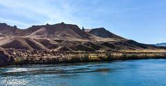 Snake River Landscape near Celebration Park (maytag97) Tags: maytag97 idaho snake river landscape desert blue sky shadow