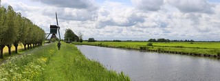 The Kockengense Mill is part of the Dutch polder landscape