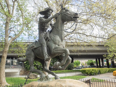 Pony Express (melastmohican) Tags: express statue letter art symbol old pony district retro postmark vintage united american historic post california route national shipping ride delivery postal rider history sacramento usa mail horse america states unitedstates us