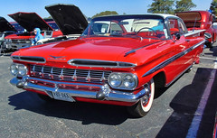'59 Chevy Impala (Photos By Vic) Tags: 1959 59 car automobile antique vintage vehicle carshow chevy chevrolet impala 2017runtothesun old
