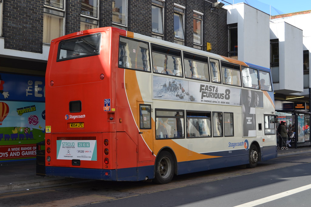 Stagecoach West 18192 MX54LPZ (Will Swain) Tags: gloucester 4th april 2017  gloucestershire bus