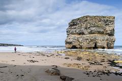 Marsden Rock at low tide (by Claire Shanahan | Photos) Tags: marsdenrock rock coast south shields northeast seascape sand walker