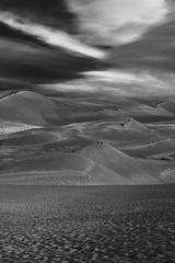 In the Spirit of Ansel Adams (Human_Nature Photography) Tags: anseladams f16 aperture landscapephotography blackandwhite depthoffield greatsanddunes colorado hiking photographer