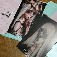 Boxopening DZ Death & Hermit (Sadomina) Tags: doll bjd abjd balljointeddoll dollzone tarot sadomina death hermit creepy horror macabre morbide resin