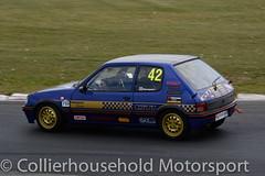 Classic Stock Hatch - R2 (8) Andy Harveyson (Collierhousehold_Motorsport) Tags: 750mc 750motorclub 750 snetterton snetterton300 classicstockhatch gti peugeot citroen vauxhall saxo stockhatch ford