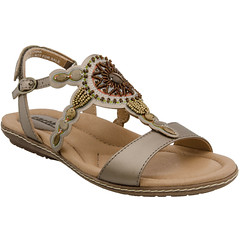 """Earth Sunbeam sandal platinum • <a style=""""font-size:0.8em;"""" href=""""http://www.flickr.com/photos/65413117@N03/33538953886/"""" target=""""_blank"""">View on Flickr</a>"""