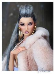 baby it's cold outside......... (kingdomdoll) Tags: seren demetae resinfashiondoll resin fashion fashiondoll beauty asian kingdomdoll kingdom doll