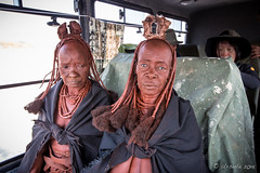 Old Aunties Hitching a Lift 8862 (Ursula in Aus) Tags: africa himba himbavillage namibia otjomazeva