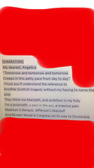Literary Allusion Hamilton (connorraftery) Tags: literature assignments seattlecentral lordgigglethorpe