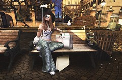 ❤️  Smile, birdie! (ℒιdsα) Tags: liquence blueberry addams tetra lpd faun rccluster suicidalunborn itdoll dol sl secondlife avatar bird birdie selfie cute girl pic photo city fashion lotd shopping blog blogger glasses sunglasses snapshot