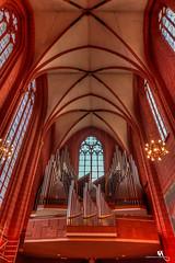Grand Pipe Organ, Cathedral of St. Bartholomew, Frankfurt (creati.vince) Tags: architecture creativince frankfurt germany mainhattan cathedral interior gothic structure bartholomew dom