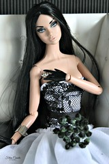 Gothic bride! (silanak (fely)) Tags: poppyparker ooak tears go by brides gothic