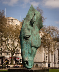 Still Water (bart7jw) Tags: london horse head marble arch uk england sculpture canon 700d t5i sigma 18250