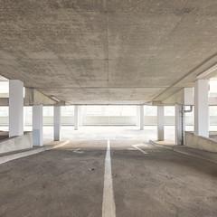 (Danny Holleman) Tags: square garage concrete fuji fujifilm