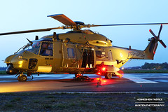 RN-08 Belgium Air Force NHI NH90 TTH (Fabke - Aviation Photography) Tags: rn08 belgiumairforce nhi nh90 baf helidays 2017 beauvechain belgium nightshot nightshoot lights openday airshow helicopter combathelicopter avgeek aviation bluesky