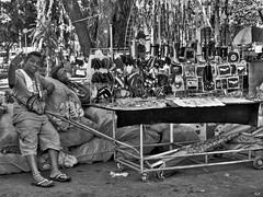 Knick - Knacks (Beegee49) Tags: street vendors selling jewelry cart bacolod city philippines