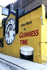 After Work is Guinness Time (Bill Smith1) Tags: agfavista400 believeinfilm billsmithsphotography heyfsc nikkoro35f2lens nikkormatel toronto