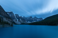 Passing Blues at Moraine (Ken Krach Photography) Tags: lakemoraine banffnationalpark