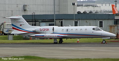 D-CFOR Learjet 35 Glasgow April 2017 (pmccann54) Tags: dcfor learjet35a