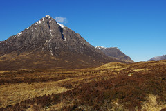 Day 4: Buachaille Etive Mòr (Gregor  Samsa) Tags: scotland scottish spring april landscape scenery scenic nature exploration sunlight light sun serenity serene tranquility tranquil highlands highland westhighlandway west way trip journey path footpath trail marked hike hiking walk walking trek trekking track tracking backpacking extreme morning sunrise rise mountain hill buachailleetivemòr buachaille etive mòr buachailleeitemòr eite
