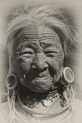 Kayaw woman (bag_lady) Tags: kayahstate myanmar burma ethnic tribal indigenous ethnicminority culture traditional costume earrings tribaljewellery kayaw