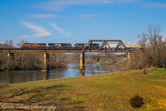 The Pennsy at Strawberry Plains (grady.mckinley) Tags: holston river strawberry plains tennessee knoxville norfolk southern pennsylvania heritage