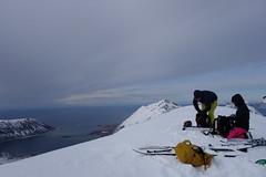 Polare Stimmung am Durmalstinden 828m (Globo Alpin) Tags: lofoten norwegen skitouren winter 2017 skiflugreisen ausland