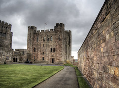 The Keep in Bamburgh Castle (neilalderney123) Tags: ©2017neilhoward castle bamburgh norman architecture keep tower history wall olympus