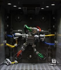 Information Retrieval (Legoloverman) Tags: lego robot keko torture