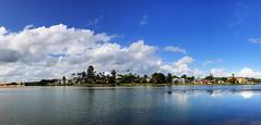 lake narrabeen panorama iphone7 plus IMG_8383_tonemapped (neilfif11) Tags: iphone7plus panorama sydney narrabeen lake