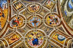 Interni (giannipiras555) Tags: dipinto arte roma museo vaticano colori
