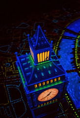 Think of a Wonderful Thought (Matt Valeriote) Tags: disneyland disney californiaadventure fantasyland peterpansflight darkride london bigben mickey hiddenmickey