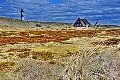 Landscape with lighthouse (Tobi_2008) Tags: leuchtturm lighthouse haus house insel island sylt schleswigholstein deutschland germany allemagne germania
