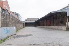 Old Warehouse On Lime Street Dublin [British & Irish Steam Packet Company]-127010 (infomatique) Tags: limestreet dublindocklands oldwarehouse bi shipping derelict williammurphy streetsofdublin streetsofireland infomatique fotonique britishirishsteampacketcompany
