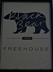 Black Bear - Whitchurch, Shropshire. (garstonian11) Tags: pubs realale shropshire whitchurch gbg2017 camra pubsigns
