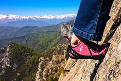 Spalmare su Roccia (Torchia Marco) Tags: sport climbing arrampicata rx100 piemonte italia aderenza mountain montagna