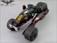 Batman's Sewer Rat (BobDeQuatre) Tags: lego batman moc sewer rat