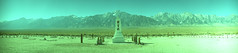 KMZ FT-2 Manzanar Internment Camp (▓▓▒▒░░) Tags: analog panorama panoramic camera vintage retro classic 35mm soviet ussr russian mechanical manzanar internment prison camp wwii california history war prisoner eastern sierra mountains independence lone pine desert abandoned