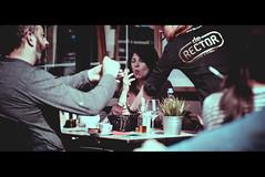 De Rector (BotaFriko) Tags: leuven straatfotografie streetphotography smoking sigarette terras drinking bar restaurant