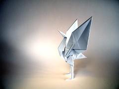 Standing Crane - Jun Maekawa (Rui.Roda) Tags: origami papiroflexia papierfalten standing crane jun maekawa
