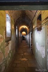 Kilmainham Gaol, circa 1787 (Little Hand Images) Tags: kilmainhamgaol circa1787 dublinireland prison jail 1916easterrising imprison executions firingsquad hallway peelingpaint stone