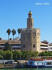 Sevilla-05a Torre del Oro (ferlomu) Tags: andalucía arquitectura ferlomu sevilla torredeloro